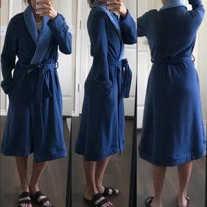 NWOT UGG super soft blue robe